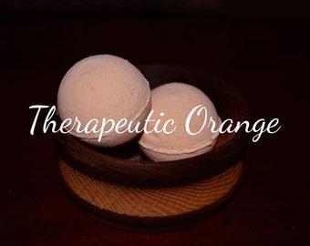 Therapeutic Orange Bath Bomb