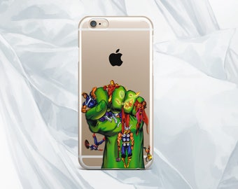 Marvel Case iPhone 7 case Samsung S7 case heroes case iPhone 7 plus avengers iPhone case iPhone 6 case Hulk Samsung S6 edge case clear case