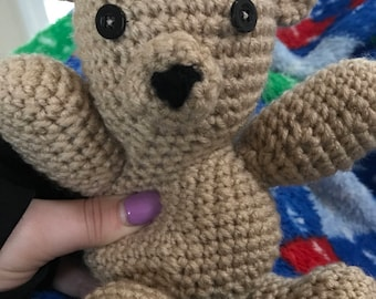 Crocheted Teddy Bear
