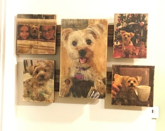 Custom Handcrafted Photo Collage