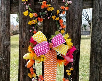 Easter Wreath, Easter Bunny Grapevine Wreath, Bunny Wreath, Easter Decor, Bunny Decor, Easter, Spring Wreath, Spring Decor, Wreath, Rustic
