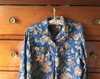 Shirt vintage Cowgirl years 80's size S-M