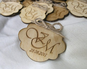 Wooden Save the Date magnets, wood save the date magnets, wooden magnets, engraved magnets, rustic save the date magnet