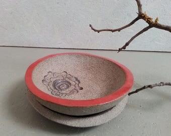 Ceramic SOAP dish duo