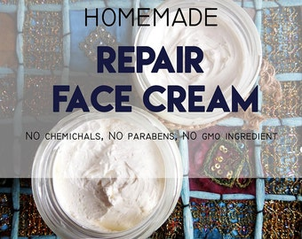 Homemade Repair Face Cream