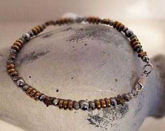 """Bracelet """"Silver + Gold"""""""