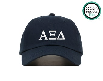 Alpha Xi Delta Sorority Baseball Cap (Greek Letter)