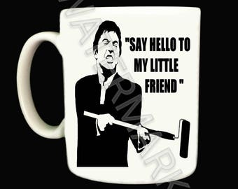 Painter and Decorator Mug Mugs . Scarface style