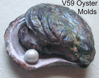 Oyster Shell Silicone Mold by Scott Clark Woolley