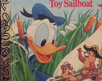Little Golden Book:Donald Duck's Toy Sailboat