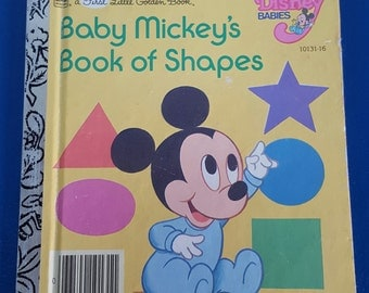 Baby Mickey's Book of Shapes