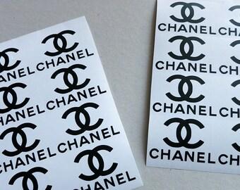 custom order  chanel logo