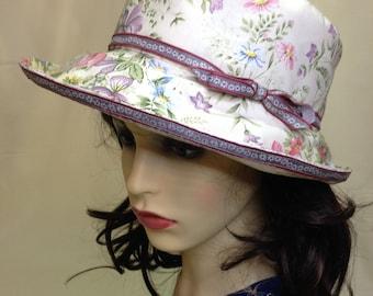 Ladies  Summer Country Garden  Sun Hat