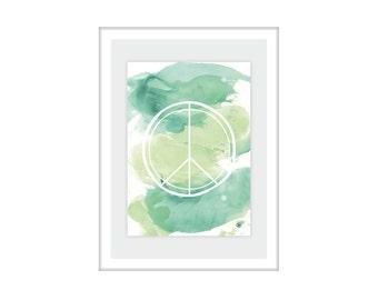 "Print/print ""Peace"""