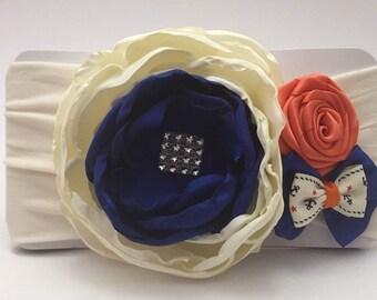 Floral sailor headband