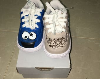 Cookie Monster kids Nike sneakers