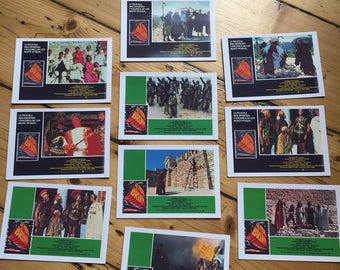 Monty Python's The Life Of Brian - Spanish Lobby Card Copies - Set of 10 (John Cleese / Michael Palin / Terry Gilliam)