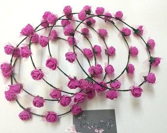 Bridesmaid Wreaths. Bachelorette Party. Bachelorette Wreath. Bride Wreath. Bachelorettes. Bridesmaids. Wreath. Spring Wreath. Hair Wreath