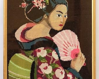 The Geisha Cross-Stitch