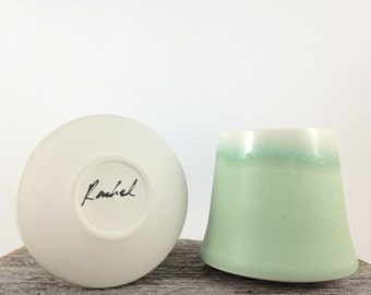 Tumbler in jade green