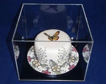 Wedding Acrylic Display Case/Keepsakes/Memories/Cake/Bouquet/Flowers/Tiara/Shoes