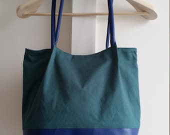 tote bag, shoulder bag, tote bag, shopper, shouder faux leather purse for every day