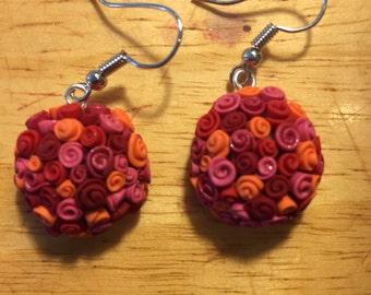 What's in a Name? Rose Petal Earrings