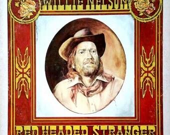 Willie Nelson RED HEADED STRANGER lp (original)