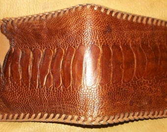 Exotic Ostrich Leather Wallet