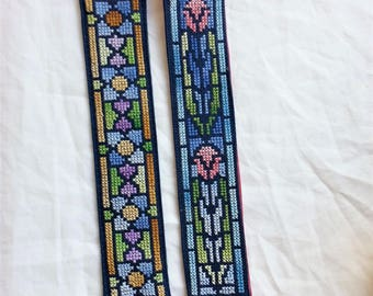 Pair of Tiffany Glass Style Book Marks