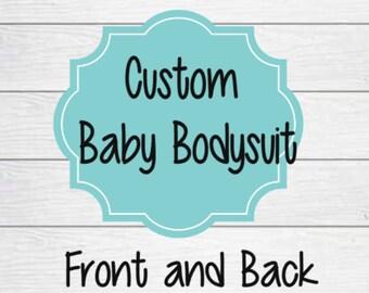 Custom Baby Bodysuit