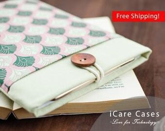 MacBook 11 in Green Pink Damask Indian Pattern for Best Friend 11 MacBook Air Cover MacBook Air 11 inch