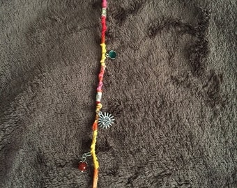 Festi hair wrap extension w/charms