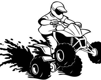 4-wheeler SVG