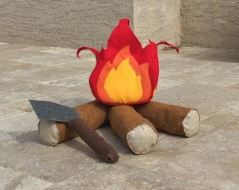 Felt campfire etsy - Faux oiseaux decoration ...