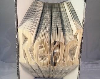 PATTERN: Read Book Fold Pattern