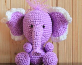 Elephant amigurumi Elephant handmade Elephant crochet Elephant toy Elephant knitting