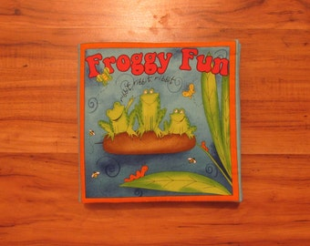 Cloth Children's Book Froggy Fun