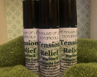 Tension Relief, Migraine and Headache Relief Roller-Ball.