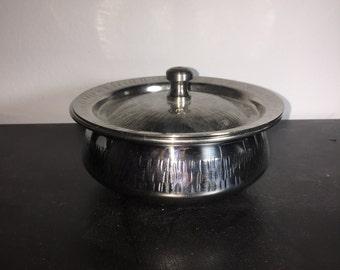Stainless Steel Mini Decorative Pots w/ Lid
