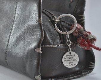 Mother & Son Keyring