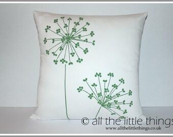 Green Allium Cushion