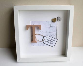 Personalised Wooden Letter Frame