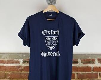 Vintage 80s University of Oxford T-Shirt