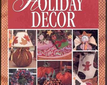 Sew-No-More Holiday Decor Book
