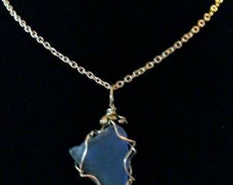 Beautiful Sea Glass Pendants