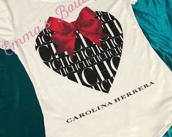 Carolina Herrera FASHION Tshirt Limited edition!