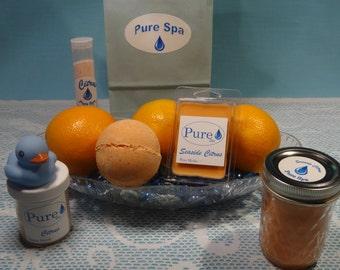 Hand-made Spa Gift Set - Citrus