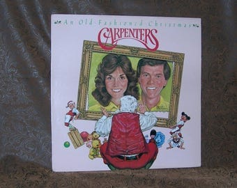 Carpenters/ An Old Fashioned Christmas/ 1984 A M Record  SP 3270 / Pop Vocal/ Ballad