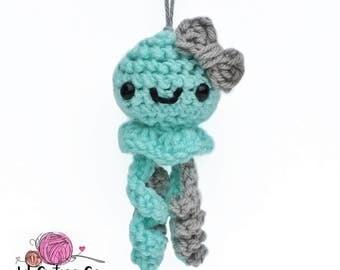 Mini Crocheted Jellyfish Cutie